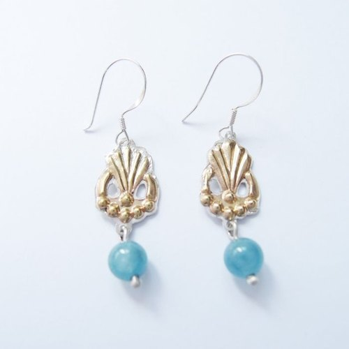 Classical style 925 silver earrings 2