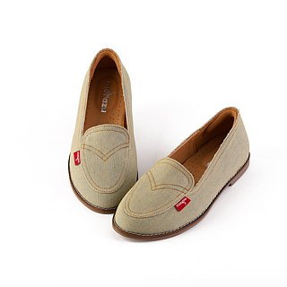 [福鹿丹宁] handmade shoes leather lining casual shoes loafers / leather lining / original limited edition