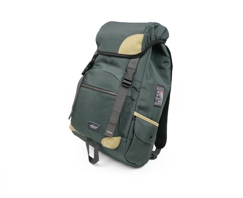 Matchwood design Matchwood Apollo high-standard waterproof pen backpack bag 17 inches laptop protective laminated graphite green limited edition