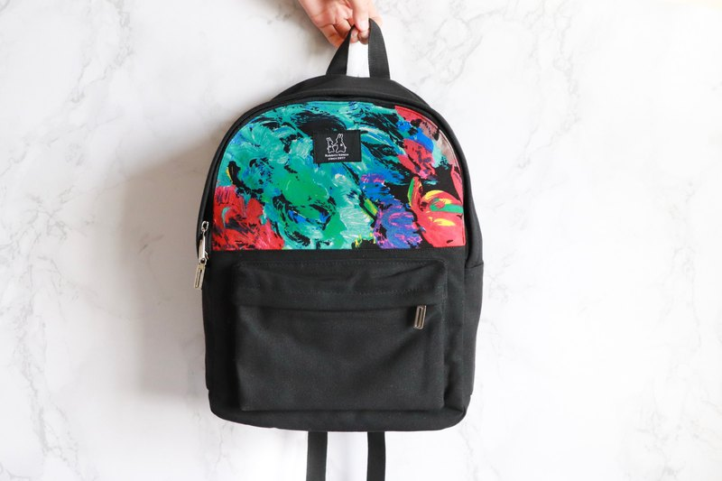 Backpack - rendering oil painting