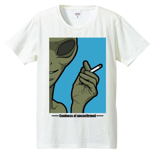 [Tシャツ]alien Cigarette