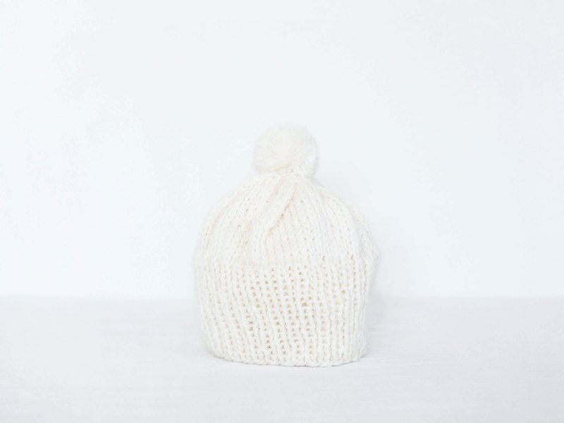 Simple knit cap