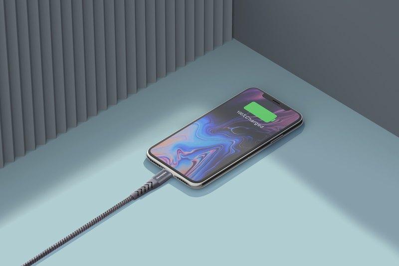 thecoopidea Lightning to USB-A 快速充電傳輸線(1.2M) - 灰色