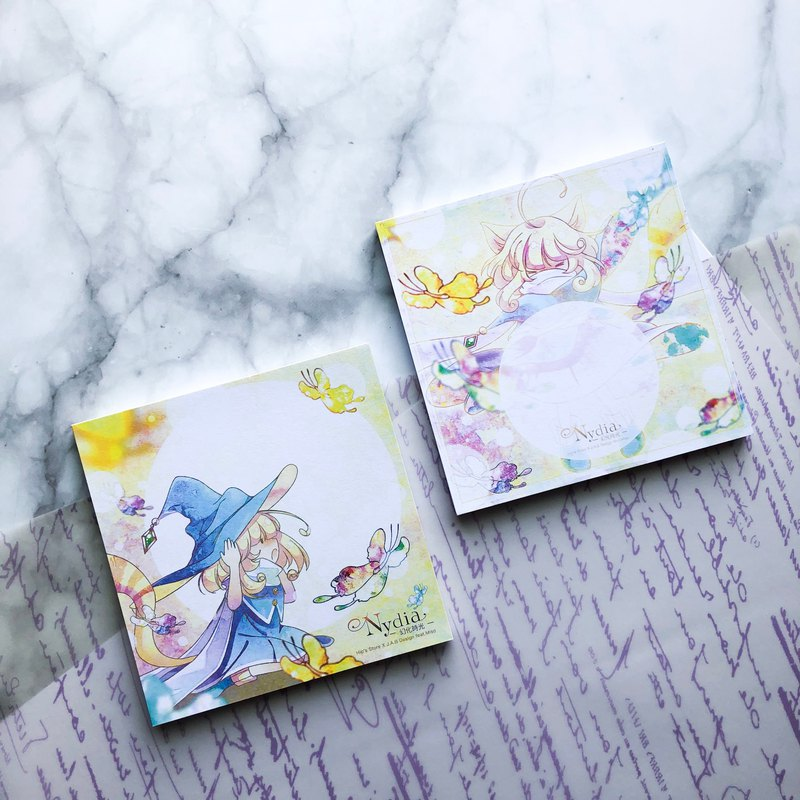 Nydia—Magic Moment—note pad set