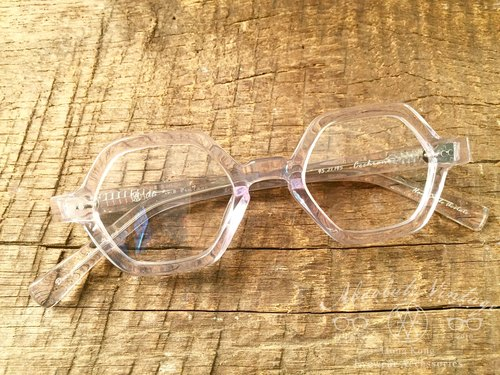 Absolute Vintage - Cochrane Street Pavilion Street Hexagonal Coated Panel Glasses - Crystal Clear
