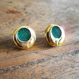 Pre-season [early hand earrings: magic green - small]