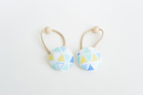 Handbag Cloth Button - Triangle