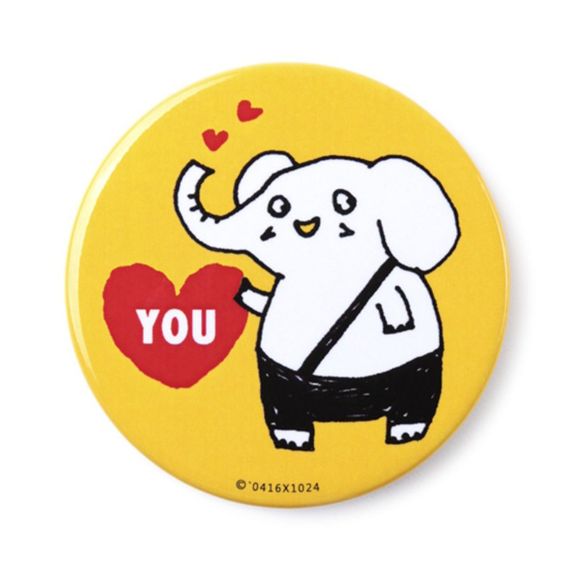 Love you! / Badge