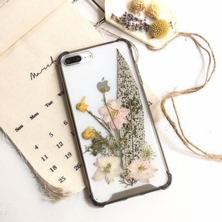 Moonlight :: Valentine's Day Dry Flower Mobile Shell Air Compressed Shell Flower Mobile Phone Gift Set