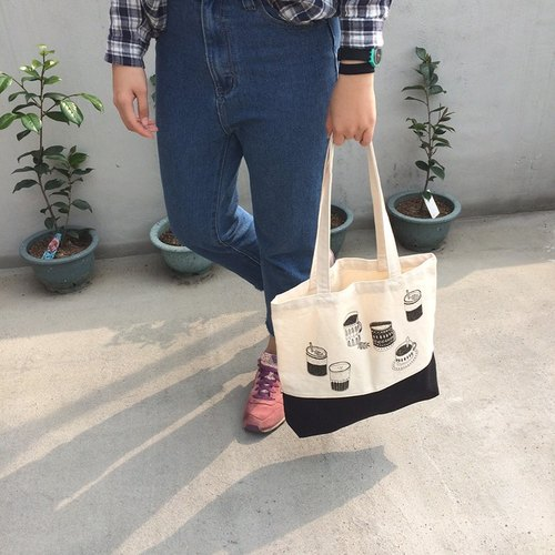 Tote bag-Coffee together