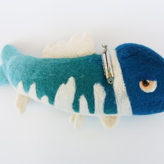 Wool Felt Animal Mouth Gold Ocean Series - Stay Meng Fish Taiwan Made Limited Manual
