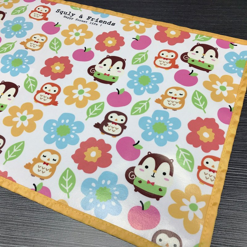 Squly & Friends Placemat (Garden) - F005SQH