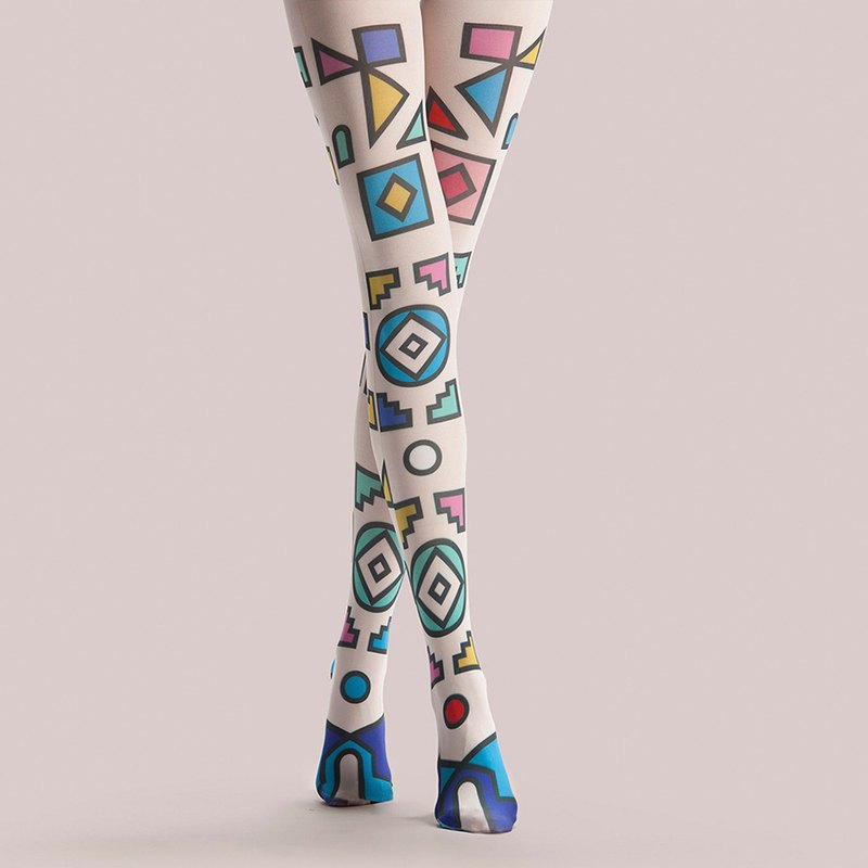 Viken plan designer brand pantyhose cotton socks creative stockings pattern stockings age sense