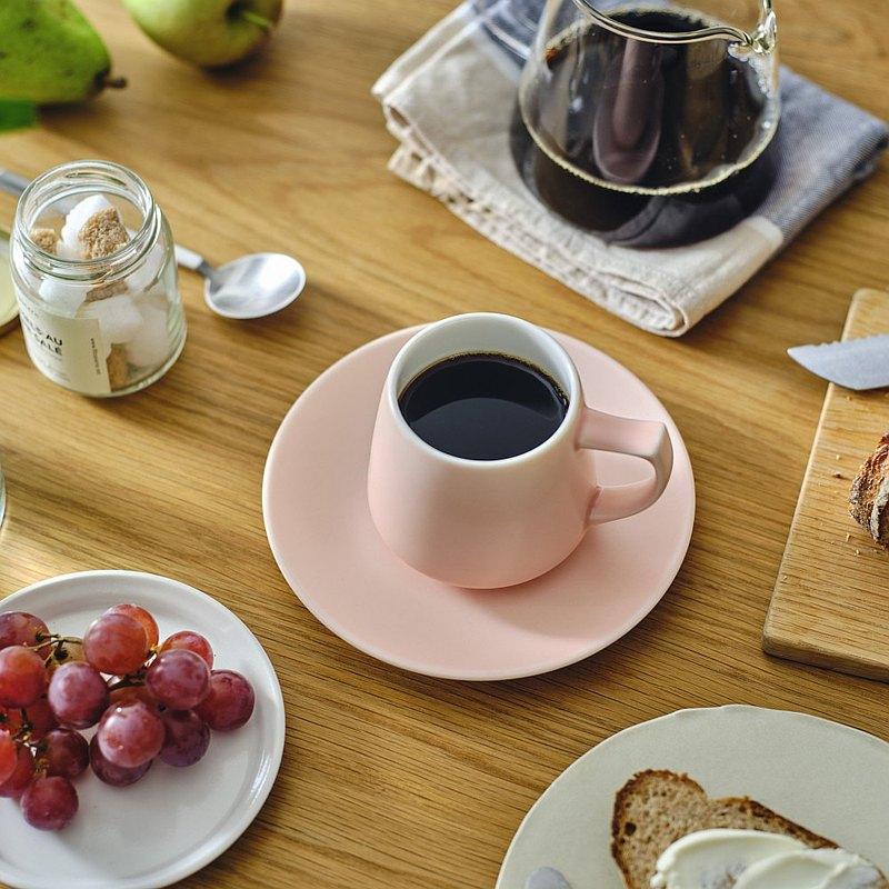 日本ORIGAMI 摺紙咖啡 Aroma 馬克杯霧色系列320ml