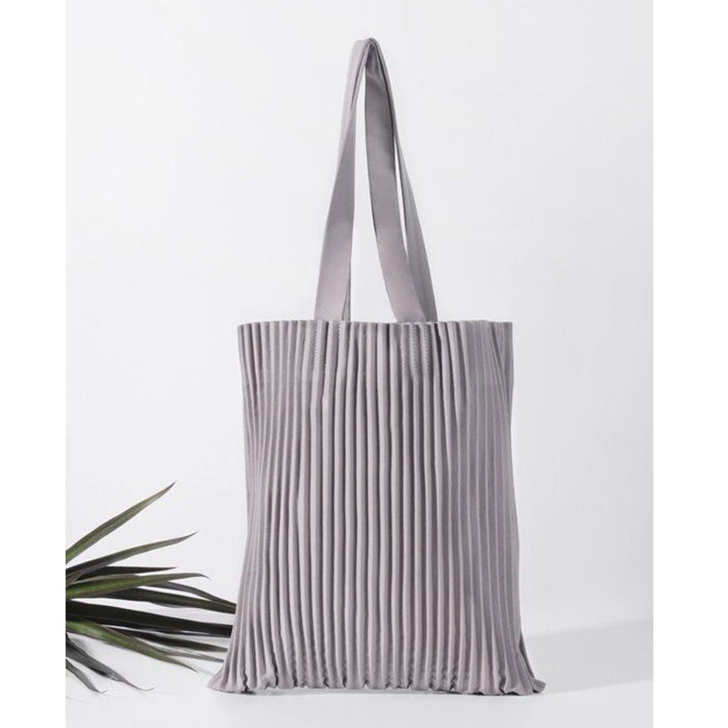 aPulp Tote Bag in Light Grey
