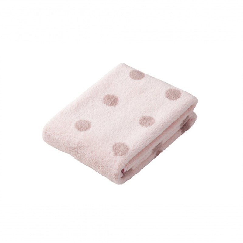 CB Japan bubble gum dot series microfiber 3 times absorbent towel powder