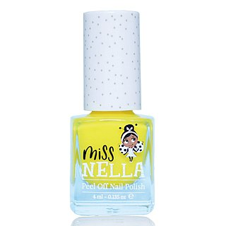British [Miss Nella] children's water-based tear-proof safety nail polish - Sun yellow (MN13)