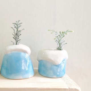 Mini vase | Icecream blue series