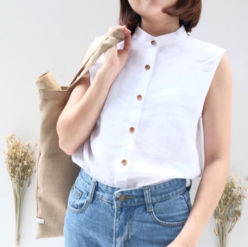 Mandarin Collar Top