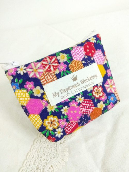 My Daydream Workshop Floral cute simple casual casual bag small purse small storage bag