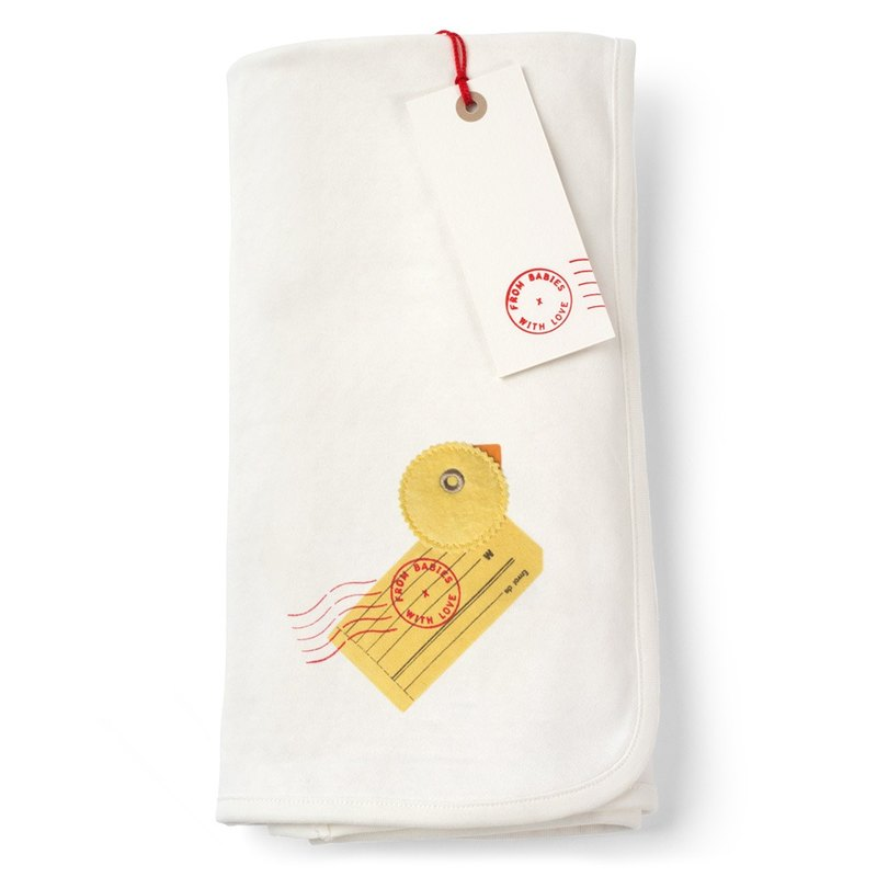 Duck Blanket Bio-Organic cotton for Baby