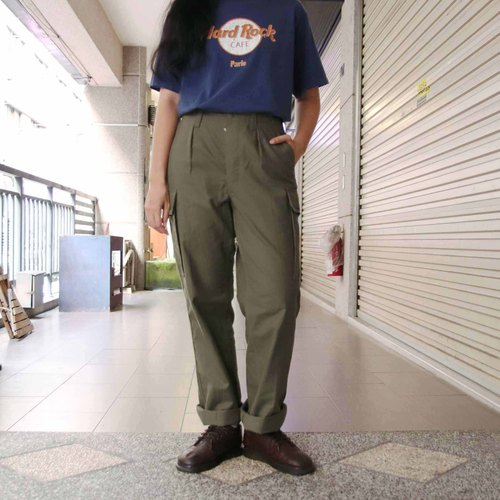 Tsubasa.Y Ancient House West German Army Pants B, Ancient Army Pants Trousers Military Uniforms
