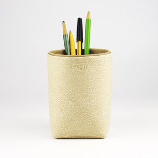 Pencil Holder, Brush Holder, Storage Box, Desk Organization,  Begie