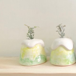 Mini vase | Lemon pie yellow series