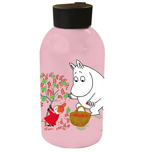 Moomin Moomin authorized - large capacity stainless steel thermos (pink)