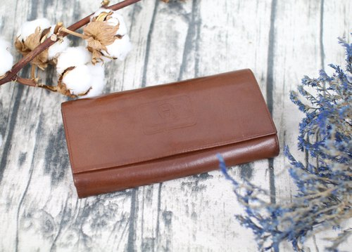 Back to Green::AIGNER多層 長夾 vintage wallet ( WT-01 )