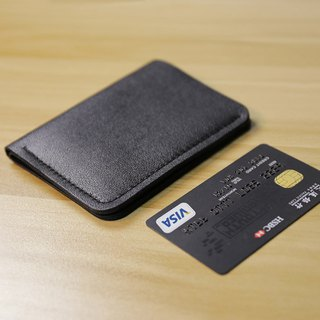 Slim Bifold Minimalist Wallet, Handmade Leather Wallet, Change Purse, Lather Credit Card Holder