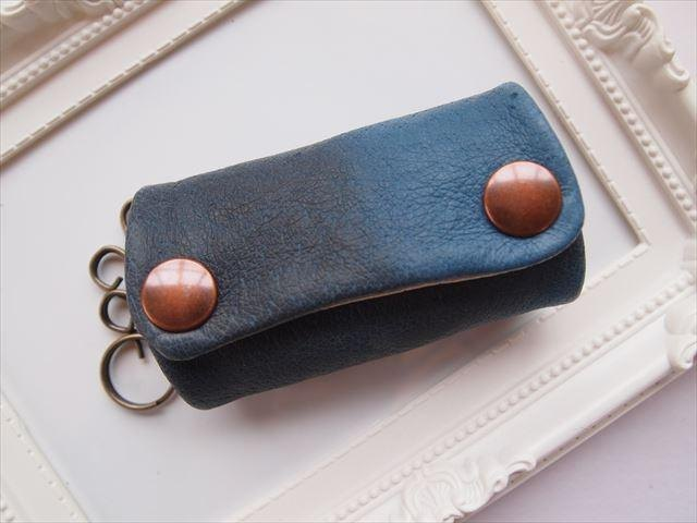Luxury pig leather soft key case [hand-dyed leather] 15430023