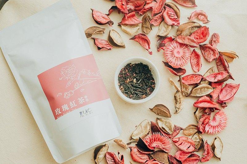 清幽濃郁 玫瑰紅茶-原葉立體茶包