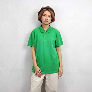 Tsubasa.Y Ancient House 004 Grass Green Lacoste POLO Shirt, Vintage Vintage