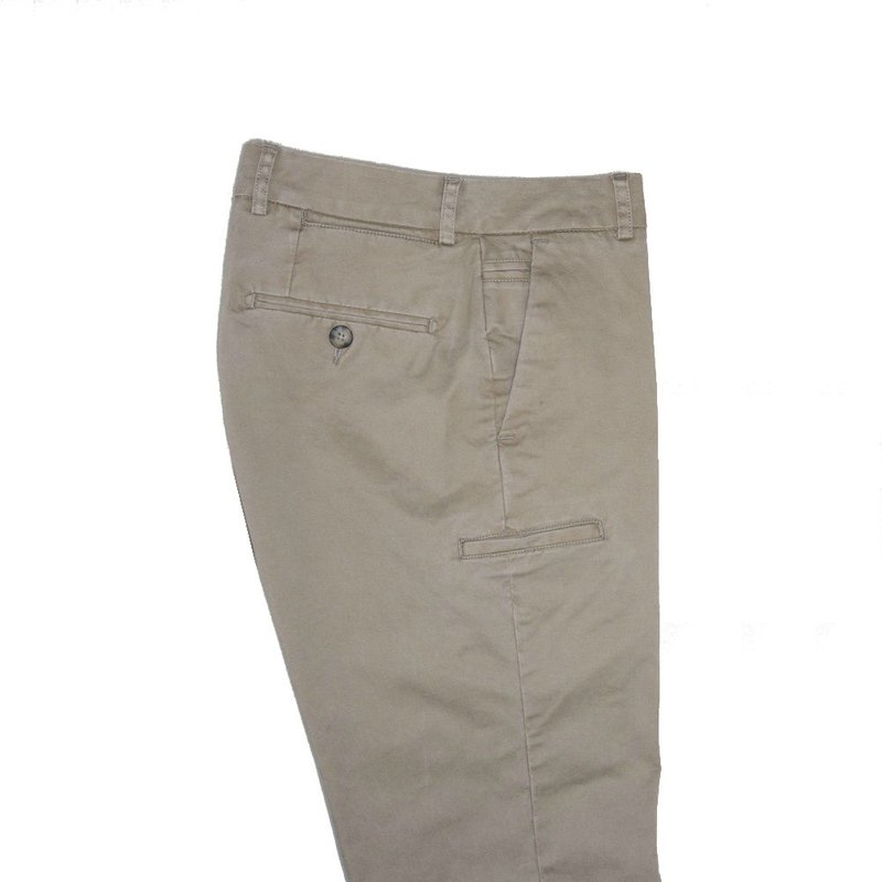 CHICAGO BEIGE 8 POCKETS TROUSERS Chicago light brown eight pocket business pants