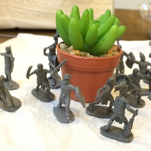 Little things: ancient civilization campaign model series villain children _