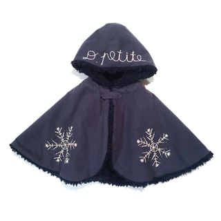 Snowy BABY cape   Navy-blue