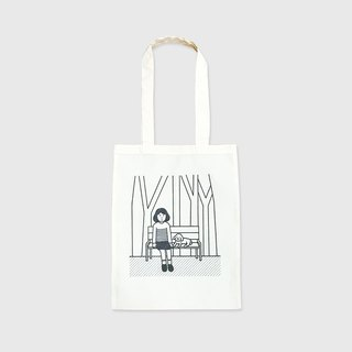 in the park | cotton tote bag