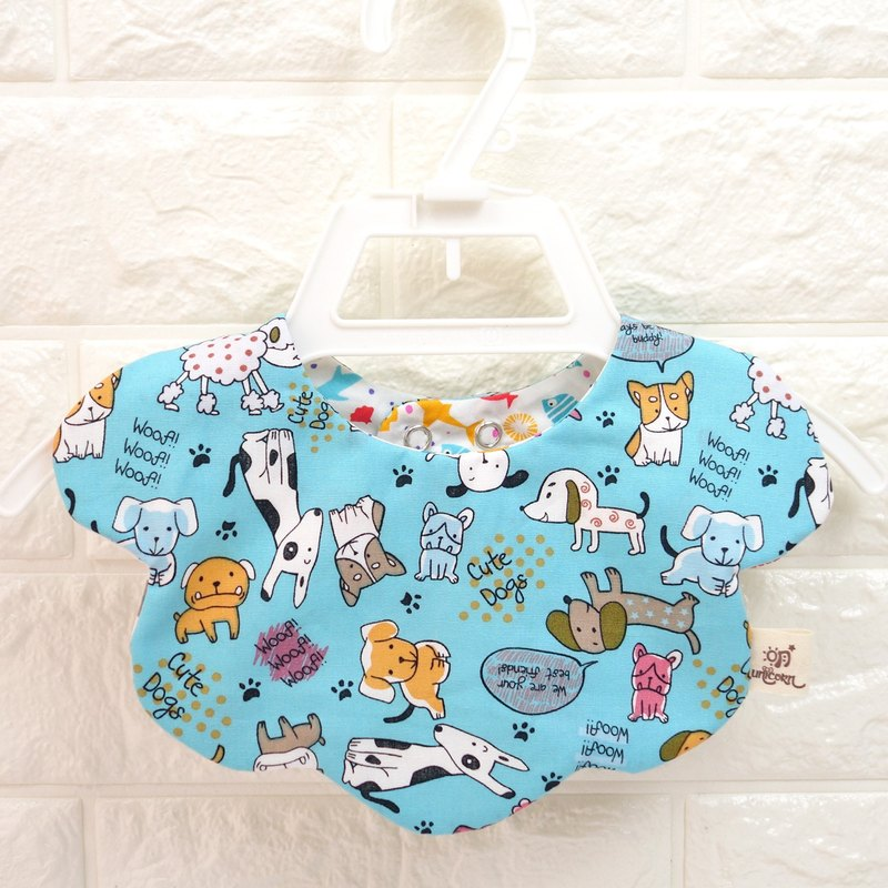 Puppy pattern cloth BABY BIB,cute cloud baby bib,Formal Bib,Unique Design