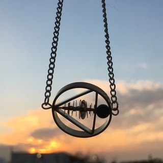 Frozen Time | Gear Necklace