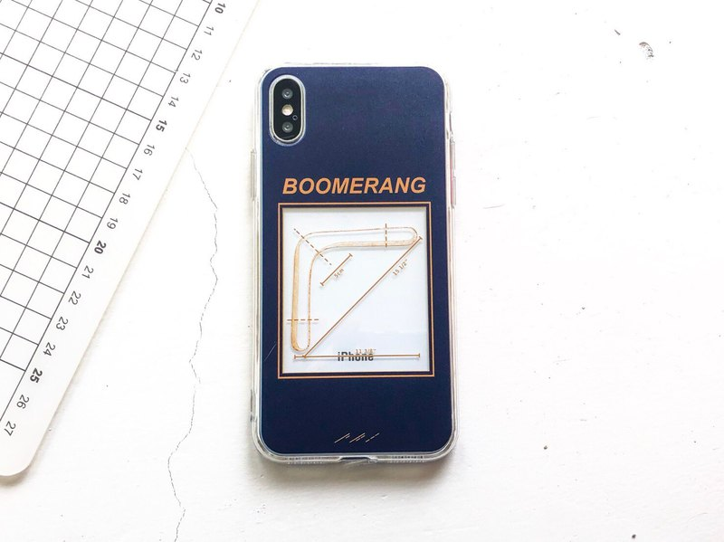 BOOMERANG iphone, HTC, sony, samsung, asus, oppo mobile phone case soft shell