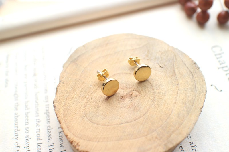 Gadgets - Gold - Brass Earrings