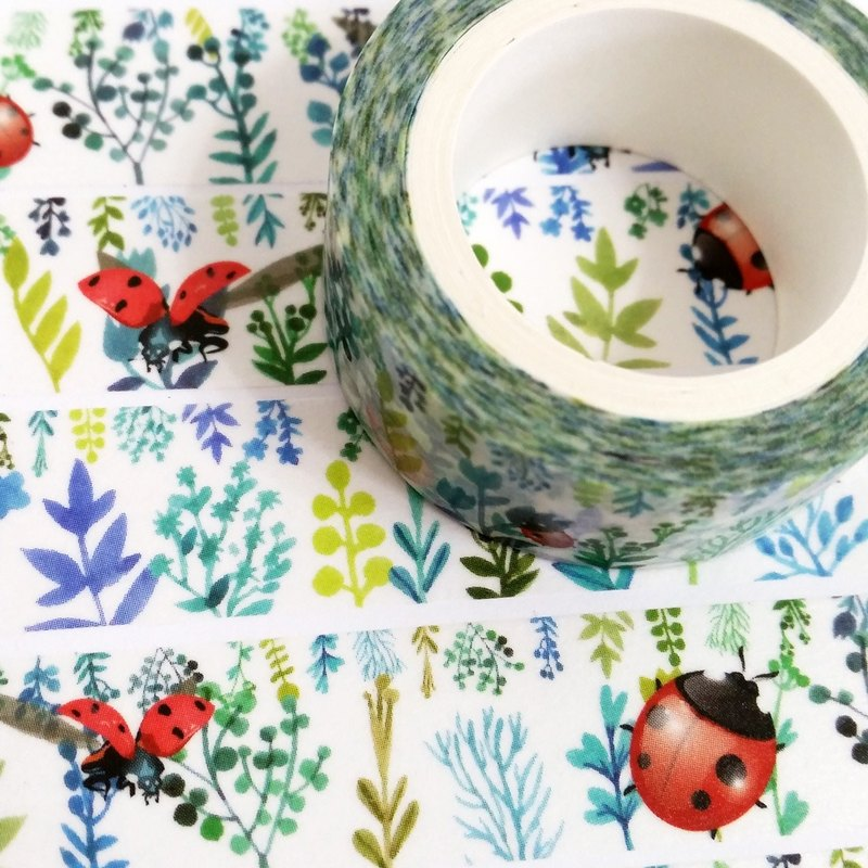 Customized Mini Washi Tape Ladybug