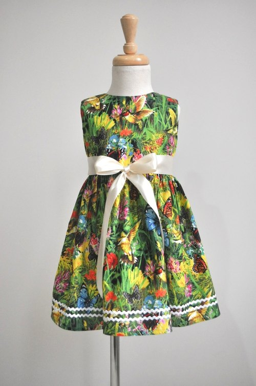 Butterfly Forest mini dress