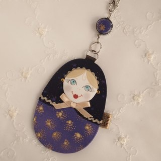 Matryoshka Pass Case · FortuneTellor / purple (MP-065)