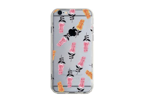花朵 - Samsung S7 S8 iPhone 5s 6s plus 7 7 plus 8 8 plus X 手機殼 手機套 cases cover