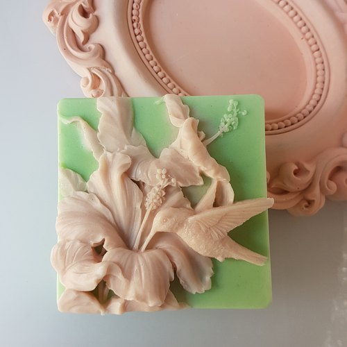 Blooming garden no. 2, Handmade Soap Scented with Jo Malone Pear and Freesia