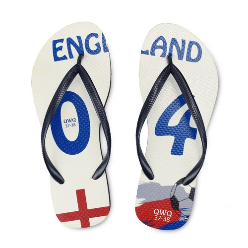 QWQ creative design flip-flops - England - female models [limited models]
