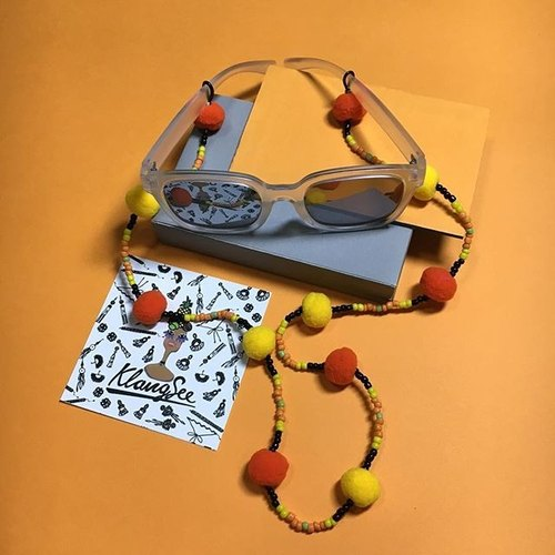 glasses strap :POP orange