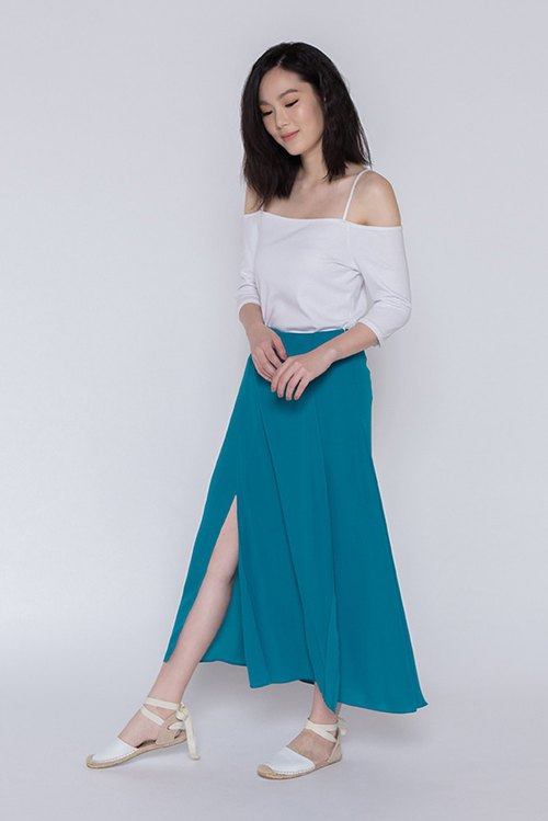 美好時光摺襬長裙 One Fine Day Overlap Maxi Skirt